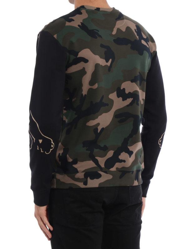 iKRIX Valentino: Sweatshirts und Pullover - Sweatshirt - Dunkelgrün