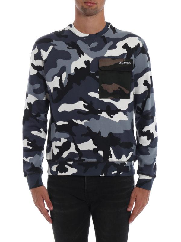 iKRIX VALENTINO: Sweatshirts und Pullover - Sweatshirt - Gemustert