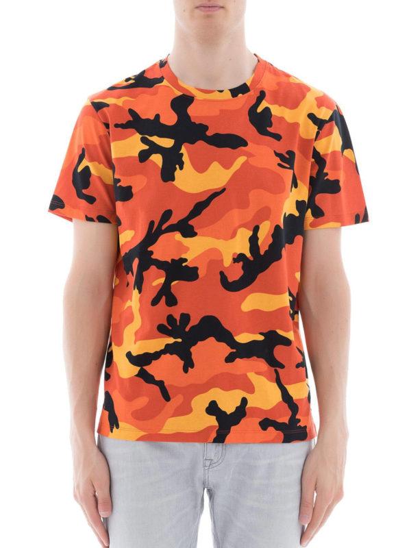 iKRIX VALENTINO: T-shirts - T-Shirt - Orange