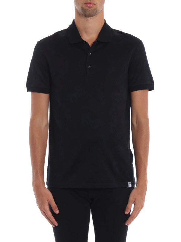 iKRIX VERSACE COLLECTION: Poloshirts - Poloshirt - Schwarz