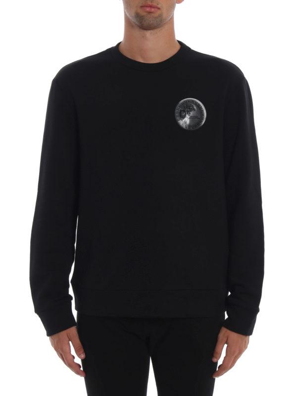 iKRIX VERSACE COLLECTION: Sweatshirts und Pullover - Sweatshirt - Schwarz
