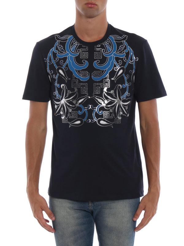 iKRIX VERSACE COLLECTION: T-shirts - T-Shirt - Dunkelblau