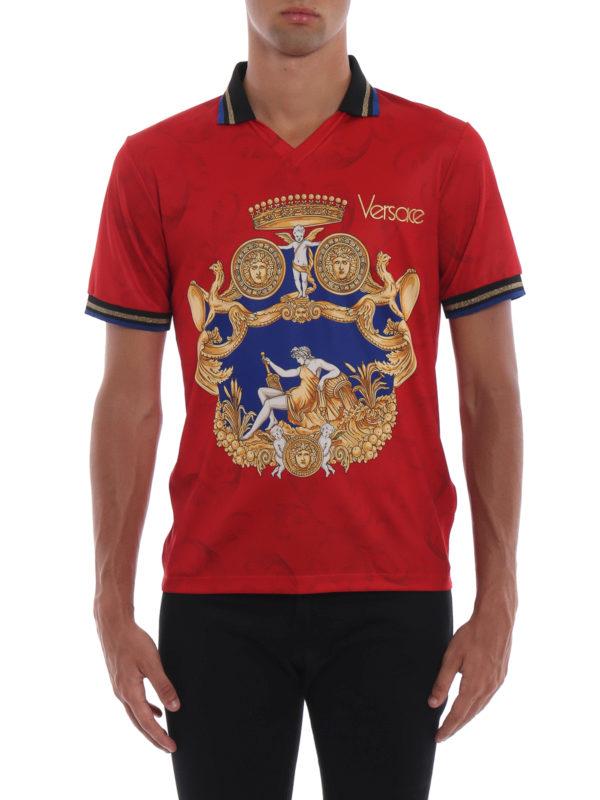 iKRIX VERSACE: Poloshirts - Poloshirt - Rot