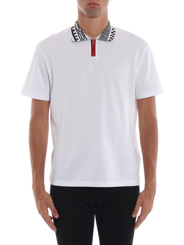 iKRIX VERSACE: Poloshirts - Poloshirt - Weiß