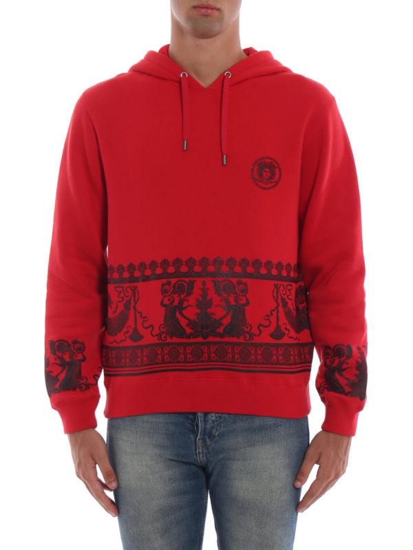 iKRIX VERSACE: Sweatshirts und Pullover - Sweatshirt - Rot