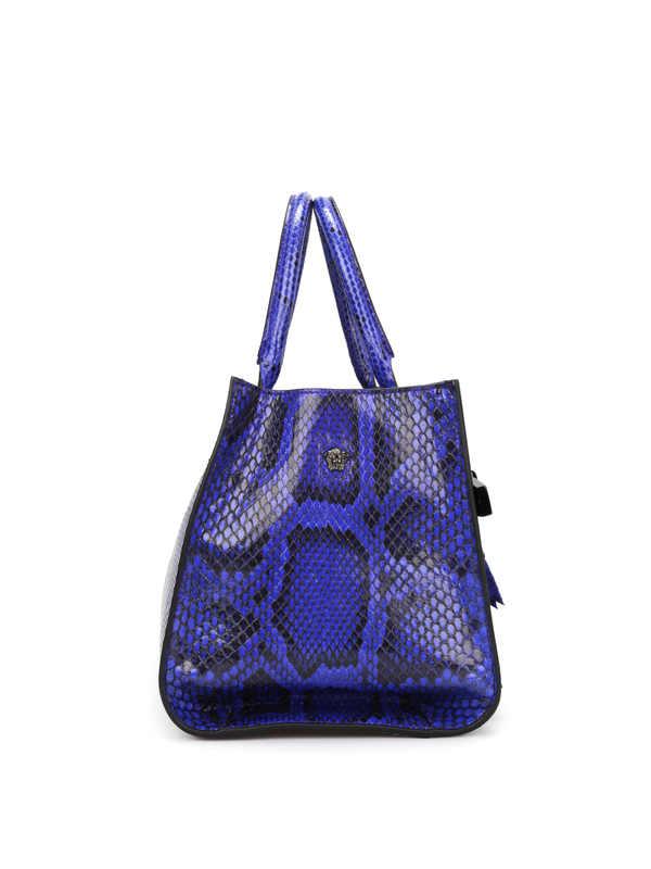 iKRIX Versace: totes bags - Python Palazzo bag