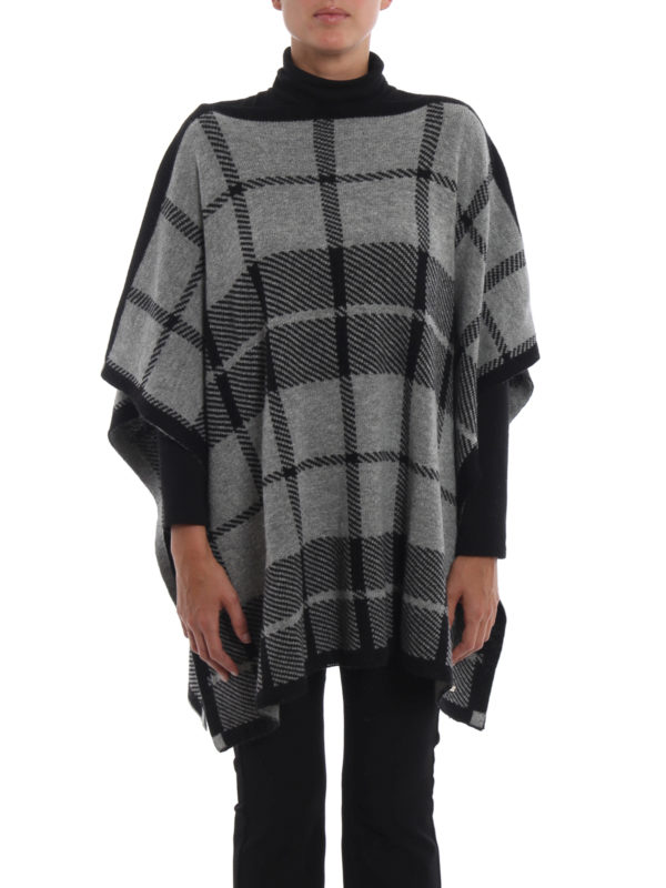 iKRIX WOOLRICH: Capes & Ponchos - Cape - Gemustert
