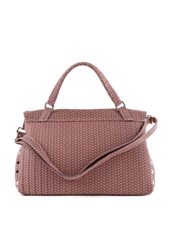iKRIX ZANELLATO: Handtaschen - Shopper - Dunkelrosa