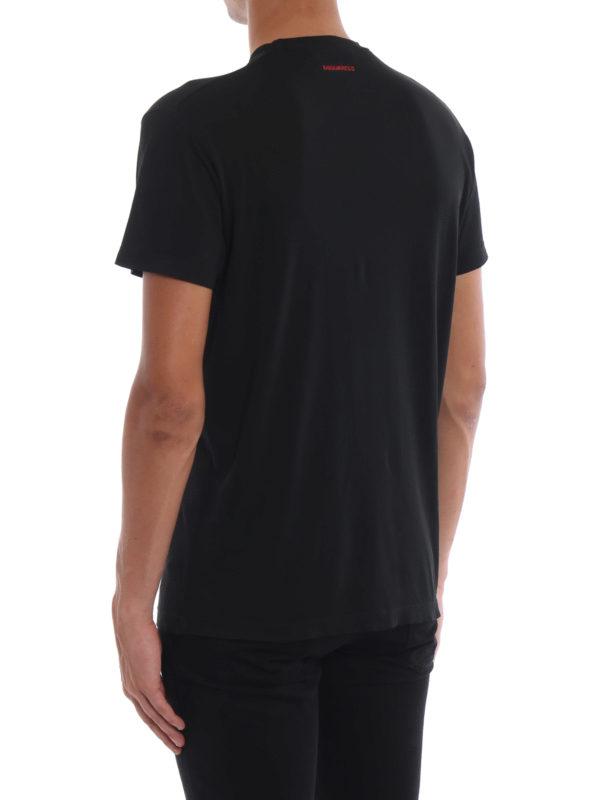 T-Shirt - Schwarz shop online: DSQUARED2