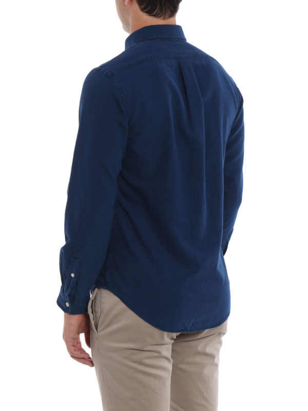 Hemd - Blau shop online: RALPH LAUREN