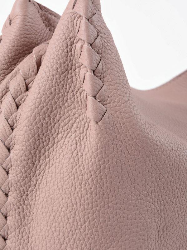 Schultertasche - Pink shop online: Bottega Veneta