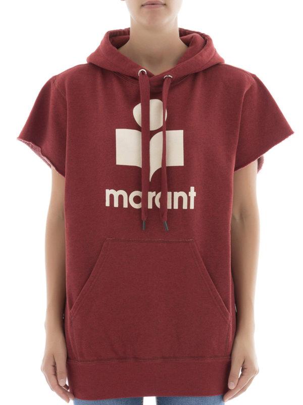 Isabel Marant Etoile: Sweatshirts und Pullover online - Sweatshirt - Rot