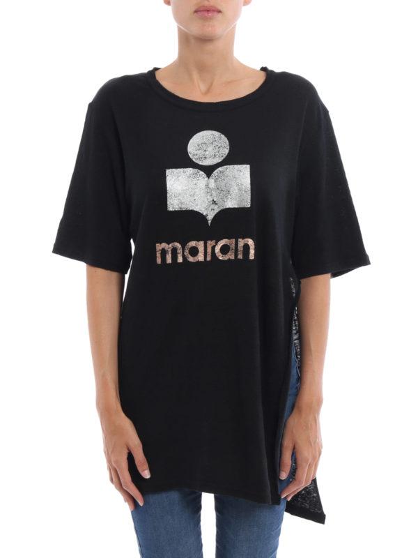 isabel marant etoile: T-shirts online - T-Shirt - Schwarz