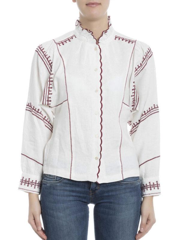 chemise delphine pour femme de isabel marant etoile chemises ikrix ikrix. Black Bedroom Furniture Sets. Home Design Ideas