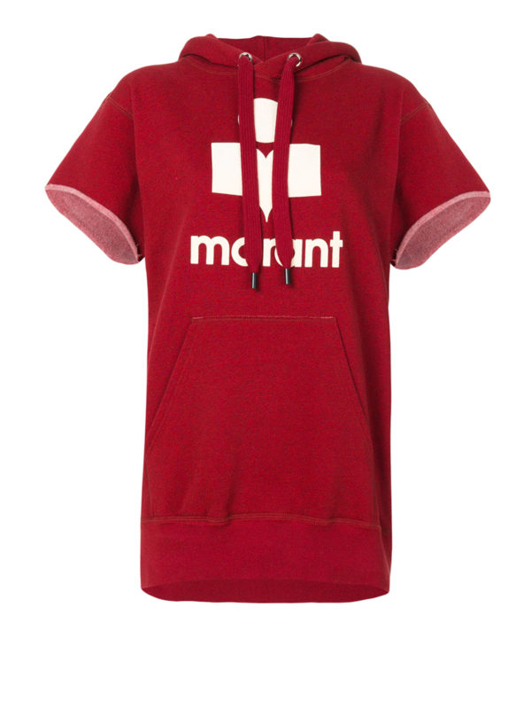 Isabel Marant Etoile: Sweatshirts und Pullover - Sweatshirt - Rot