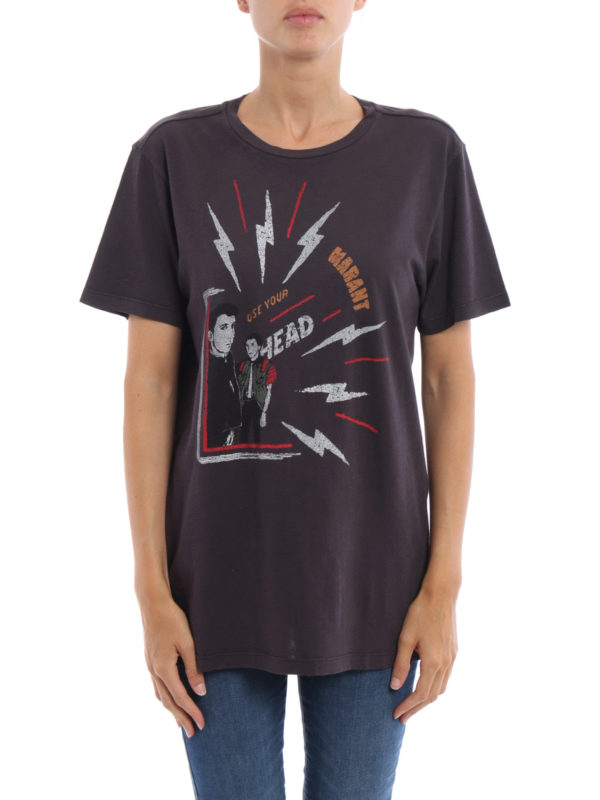 isabel marant etoile: T-shirts online - T-Shirt - Dunkelgrau