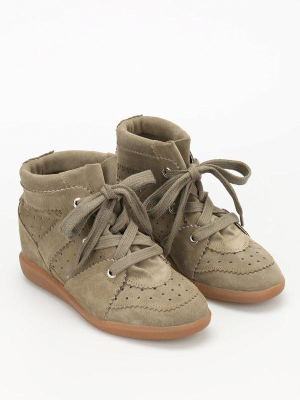 Isabel Marant: Sneaker online - Sneaker - Dunkelgrün