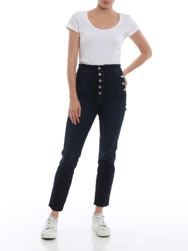 J BRAND: Skinny Jeans online - Skinny Jeans - Dunkles Jeansblau
