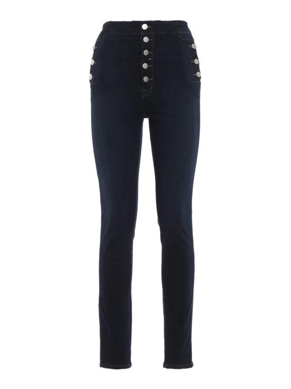 J BRAND: Skinny Jeans - Skinny Jeans - Dunkles Jeansblau