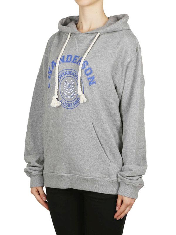 J.W. ANDERSON: Sweatshirts und Pullover online - Sweatshirt - Grau