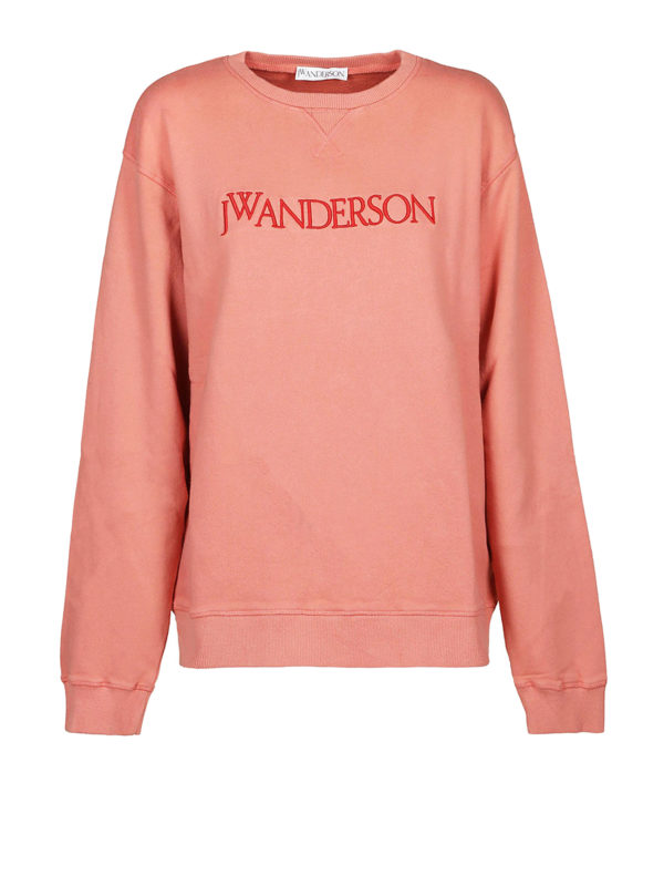 J.W. ANDERSON: Sweatshirts und Pullover - Sweatshirt - Pink