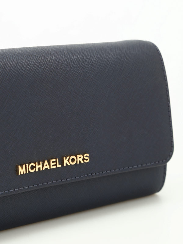 Clutch - Blau shop online: MICHAEL KORS