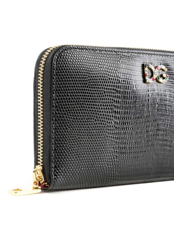 Portemonnaie - Schwarz shop online: DOLCE & GABBANA