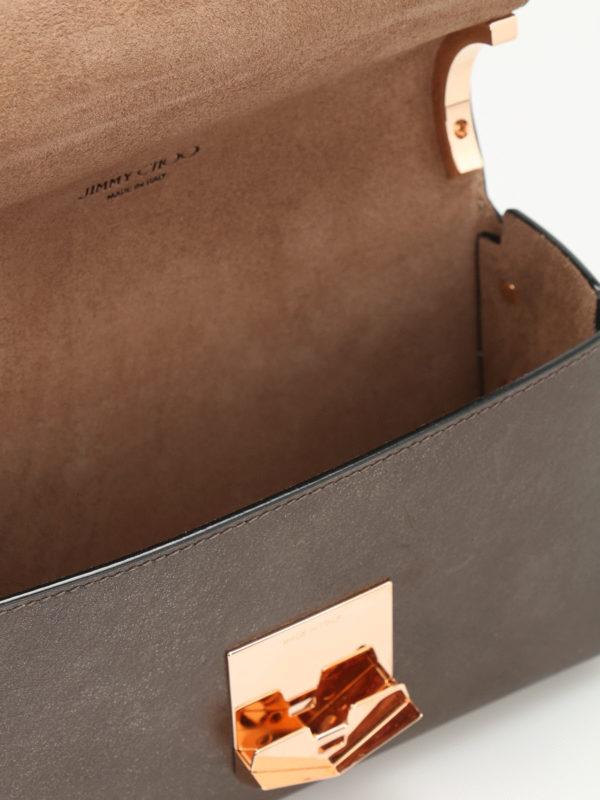 JIMMY CHOO buy online Umhängetasche - Bronze