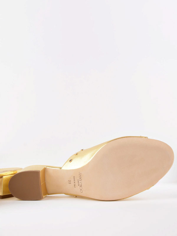 Jimmy Choo buy online Mules - Gold