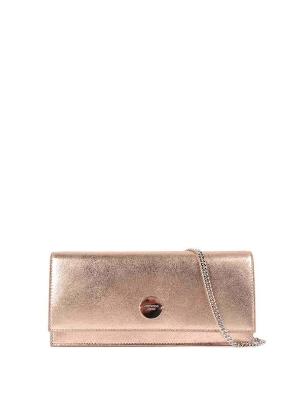 JIMMY CHOO: Clutches - Clutch - Rotgold