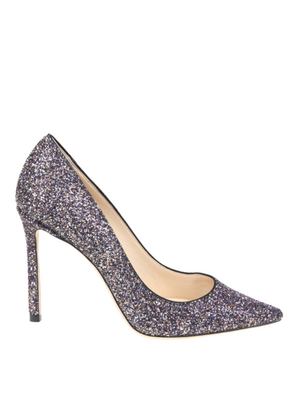 JIMMY CHOO: Pumps - Pumps - Metallic