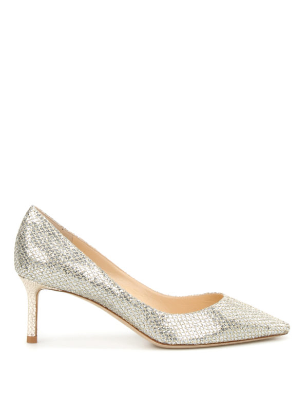 Jimmy Choo: Pumps - Pumps - Weißgold