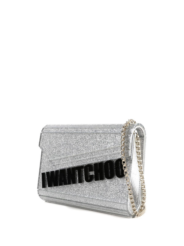 JIMMY CHOO: Clutches online - Clutch - Silber
