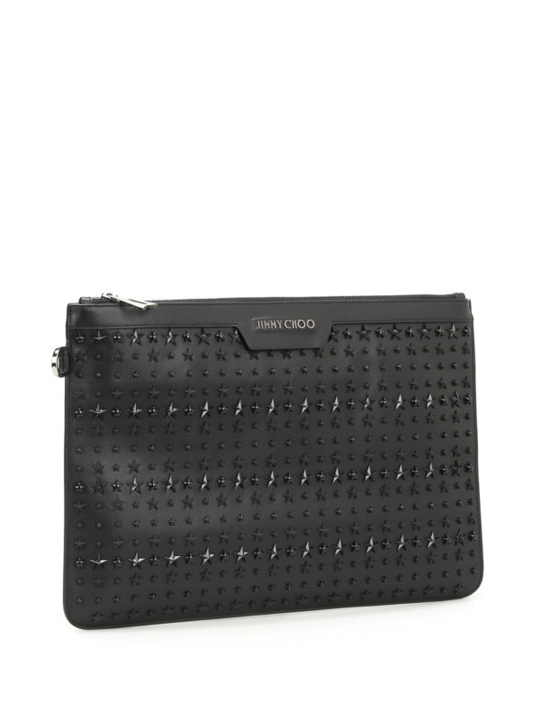JIMMY CHOO: Clutches online - Clutch - Schwarz