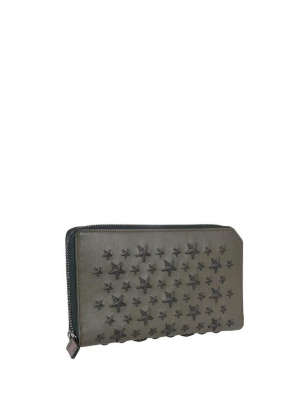 JIMMY CHOO: wallets & purses online - Carnaby wallet with mixed stars
