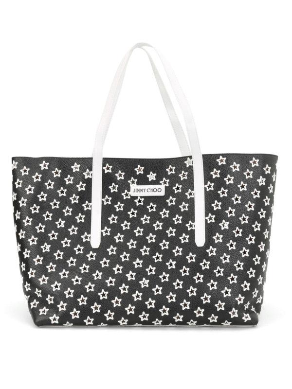 Jimmy Choo: Handtaschen - Shopper - Schwarz