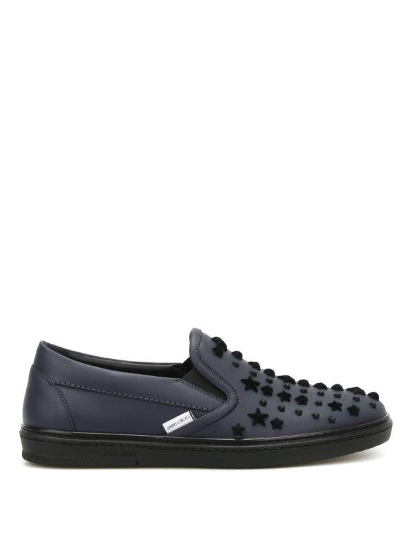 JIMMY CHOO: Sneaker - Sneaker - Blau