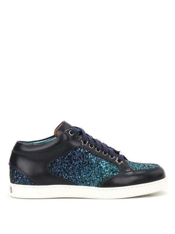 Jimmy Choo: Sneaker - Sneaker - Dunkelblau