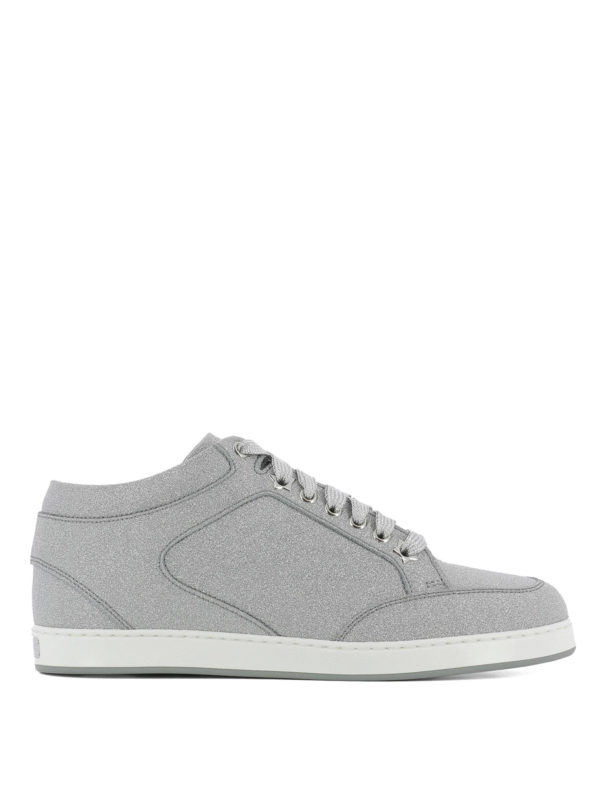 JIMMY CHOO: Sneaker - Sneaker - Silber