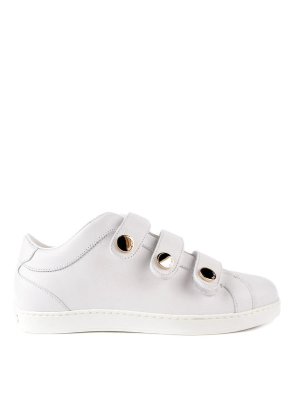 Jimmy Choo: Sneaker - Sneaker - Weiß