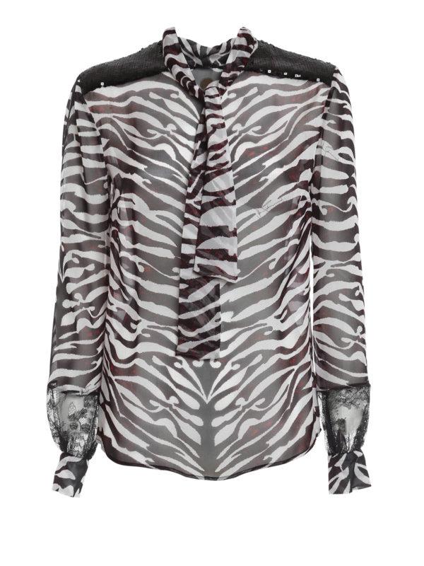 Zebra Print Blouse 9