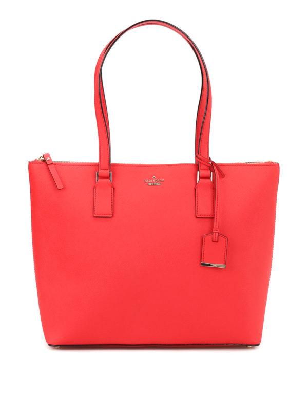 KATE SPADE: Handtaschen - Shopper - Rot