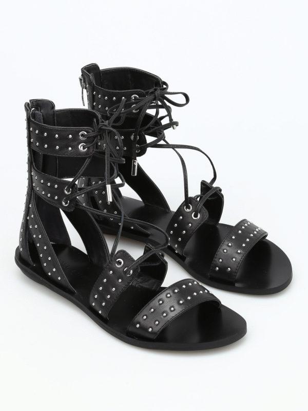 Kendall + Kylie: sandals online - Fabia slave leather sandals
