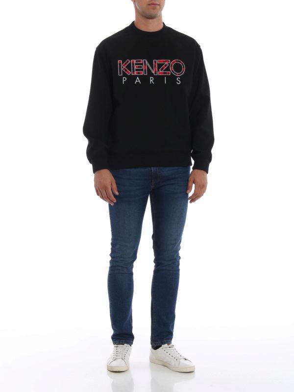 KENZO: Sweatshirts und Pullover online - Sweatshirt - Schwarz