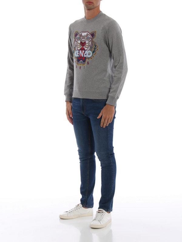 KENZO: Sweatshirts und Pullover online - Sweatshirt - Grau