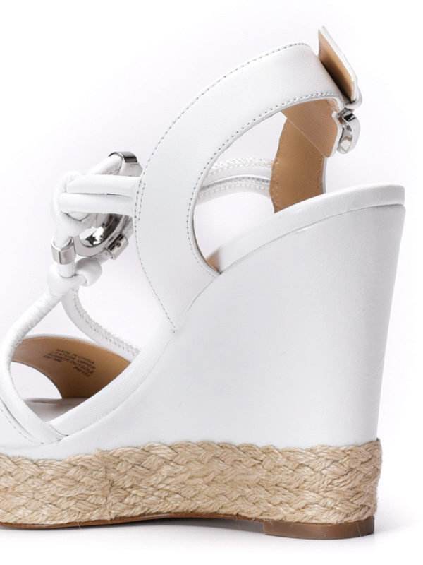 Kinley wedge sandals shop online: Michael Kors