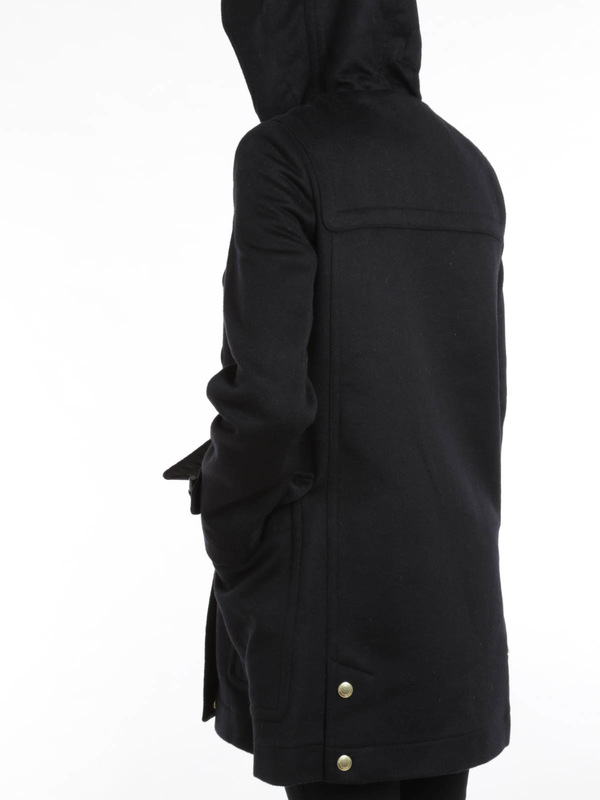 knee length coats shop online. Finsdale wool duffle coat