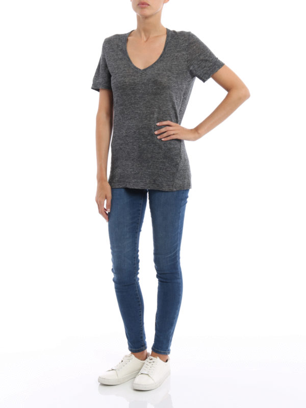 T-Shirt - Grau shop online: isabel marant etoile