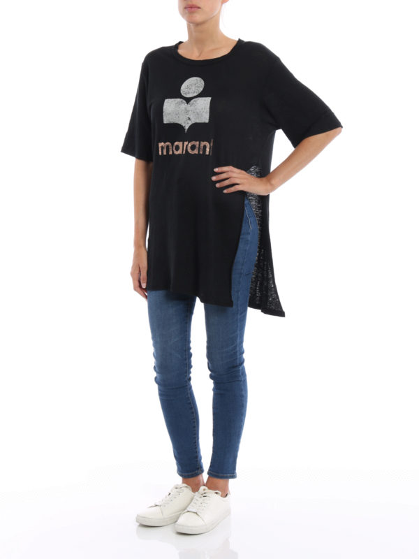 T-Shirt - Schwarz shop online: isabel marant etoile