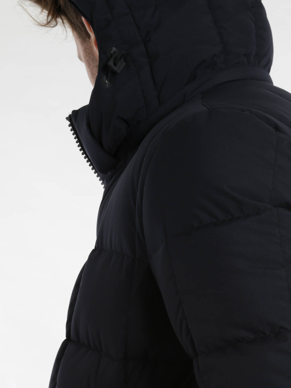 Laminar padded jacket